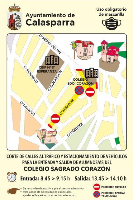 El Ayuntamiento de Calasparra lanza la campaña VUELVE AL COLE ANDANDO - 3, Foto 3