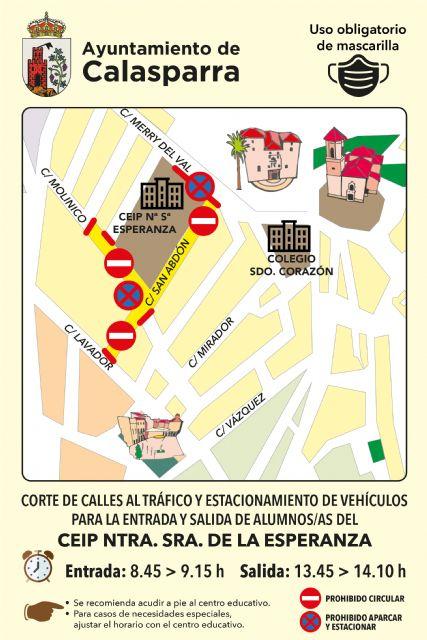 El Ayuntamiento de Calasparra lanza la campaña VUELVE AL COLE ANDANDO - 4, Foto 4