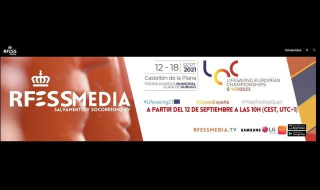 El Campeonato de Europa de Salvamento y Socorrismo podrá verse en directo en todo el mundo en cualquier dispositivo - 1, Foto 1