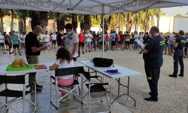 Más de 400 aspirantes inician las oposiciones a Bombero en Cartagena - 1, Foto 1