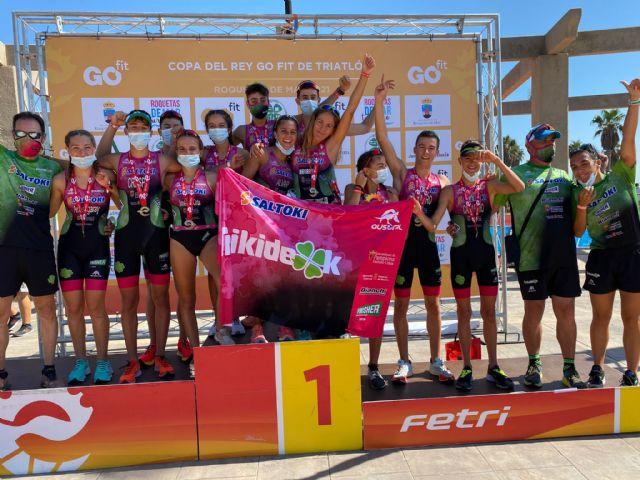 Rafa Navarro se proclama Campeón de España de Triatlón Contrarreloj por Equipos de Talentos junto al Saltoki Trikideak - 1, Foto 1