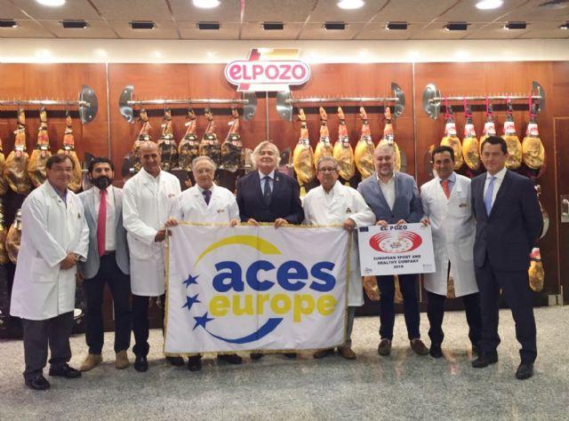 ELPOZO ALIMENTACIÓN, reconocida como Empresa Europea del Deporte y la Salud, Foto 1