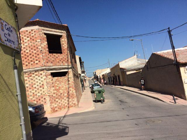 Se inicia el proceso de contratación para la pavimentación de las calles Moratalla y Sucre, y la renovación de las redes de abastecimiento y saneamiento en la calle Sucre, Foto 1