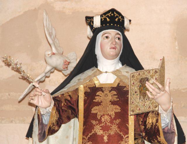 Caravaca de la Cruz celebra la fiesta de Santa Teresa de Jesús - 1, Foto 1