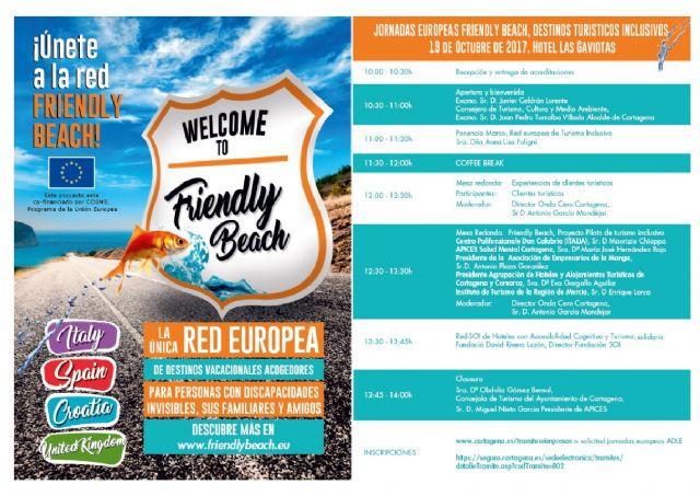 ADLE y Apices organizan una jornada para dar a conocer el proyecto Friendly Beach - 1, Foto 1