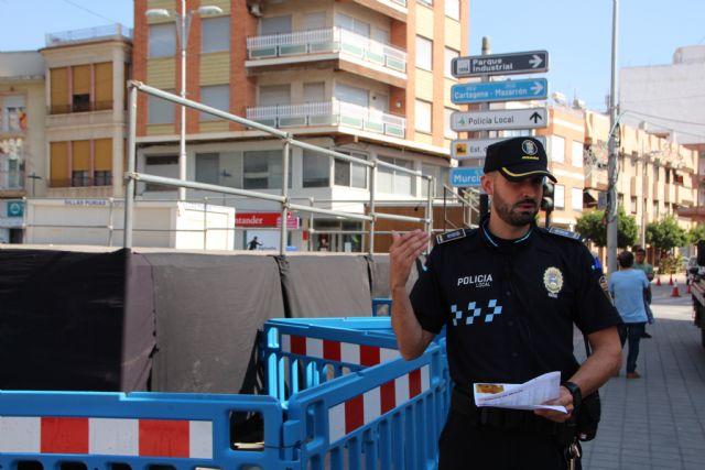 Policía Local informa de las restricciones de tráfico para este miércoles, Foto 1