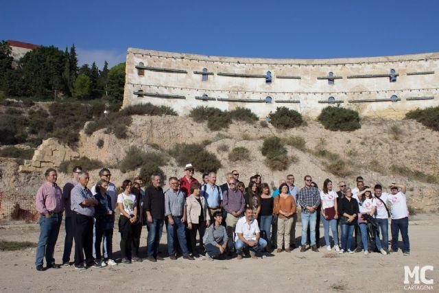 MC exige a los gobiernos regional y central compromiso real para la recuperación arqueológica del Anfiteatro Romano - 1, Foto 1