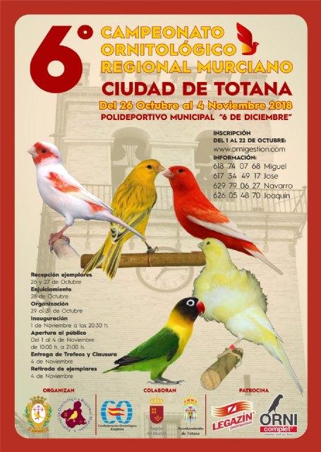 Totana acoge el 6° Campeonato Ornitológico Regional Murciano, Foto 2
