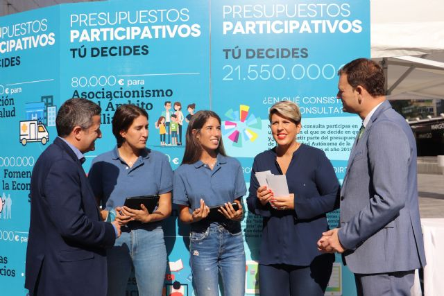 Más de 6.500 personas realizan la consulta en la primera semana de los Presupuestos Participativos de la Comunidad, Foto 1