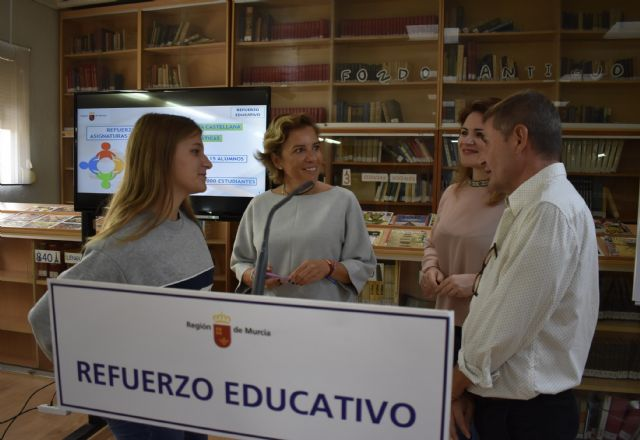 El 80 por ciento de alumnos del programa de 'Refuerzo Educativo' en verano aprobaron en septiembre, Foto 1