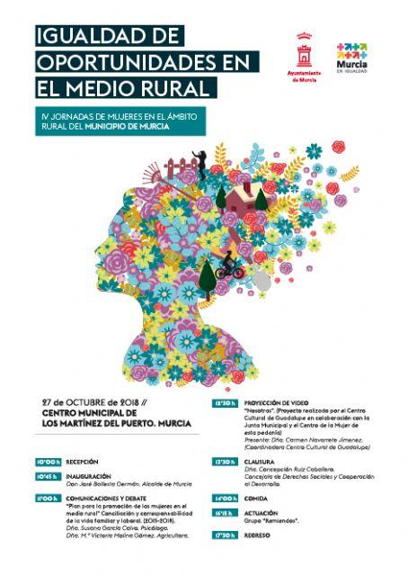 La Conciliación y corresponsabilidad los temas centrales de las IV Jornadas de Mujeres en el Medio Rural - 1, Foto 1