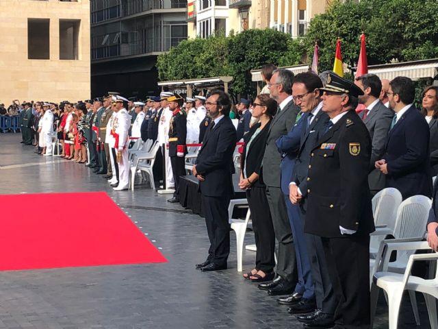 El Gobierno regional asiste a los actos conmemorativos de la patrona de la Guardia Civil 2018 - 1, Foto 1