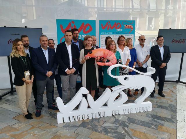 Presentación deI I Encuentro Gastronómico del Langostino del Mar Menor, Foto 1