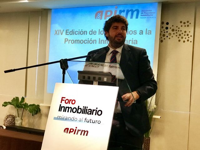 López Miras anuncia la creación de una Unidad de Aceleración de Inversiones Inmobiliarias para agilizar la implantación de proyectos - 1, Foto 1