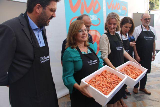 Degustaciones, showcooking, calle de las tapas y salidas en barco, en el I Encuentro Gastronómico del langostino del Mar Menor 'Vivo 2018' - 3, Foto 3