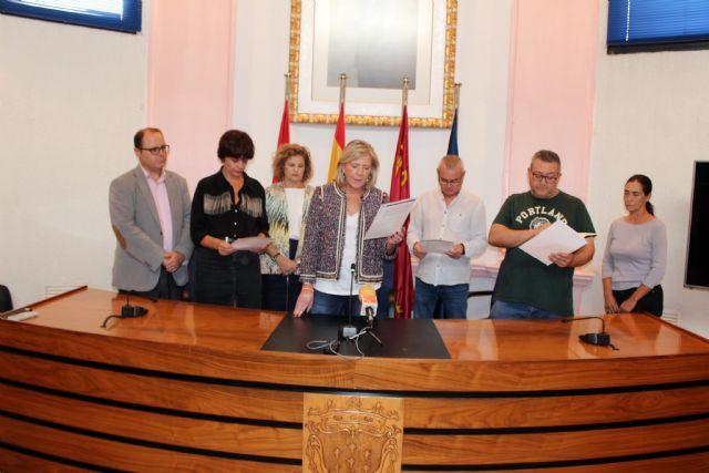 Alcantarilla conmemora el Día Internacional de la Niña, con la lectura de una Declaración Institucional por todos los grupos municipales en el Ayuntamiento - 1, Foto 1