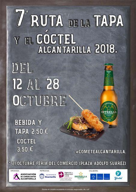 Mañana viernes se inaugura en Alcantarilla la séptima Ruta de la Tapa y el Cóctel, que se celebrará en nuestra ciudad del 12 al 28 de octubre, con 21 establecimientos participando en la misma - 3, Foto 3