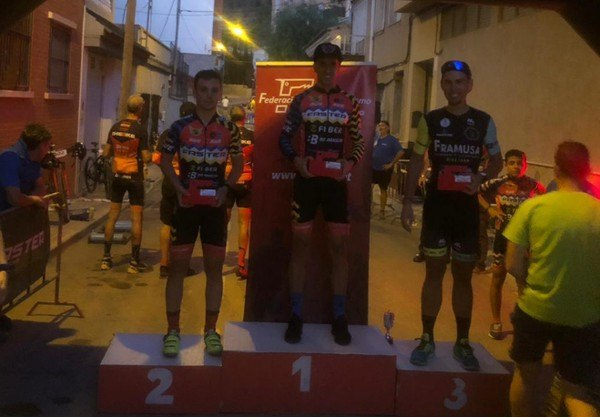 Gabri's new podium for the Grasshopper Framusa, this time in Torreaguera - 1