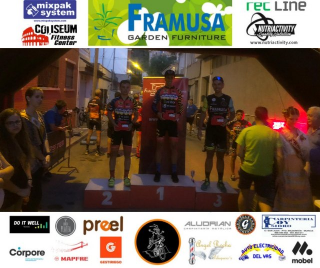 Gabri's new podium for the Grasshopper Framusa, this time in Torreaguera - 2