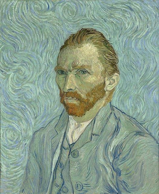 Autorretrato de Vincent Van Gogh (1889) / Wikipedia, Foto 1