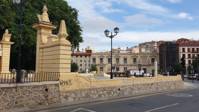 El equipo socialista tiene el patrimonio de Murcia abandonado y en un lamentable estado de suciedad - 4, Foto 4