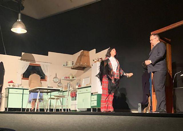 Platea representa Materia reservada en el IX certamen de teatro amateur Juan Baño de Las Torres de Cotillas - 1, Foto 1