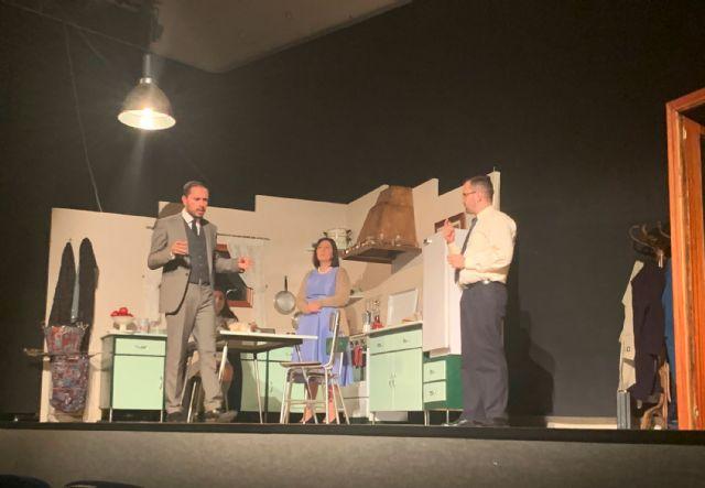Platea representa Materia reservada en el IX certamen de teatro amateur Juan Baño de Las Torres de Cotillas - 2, Foto 2