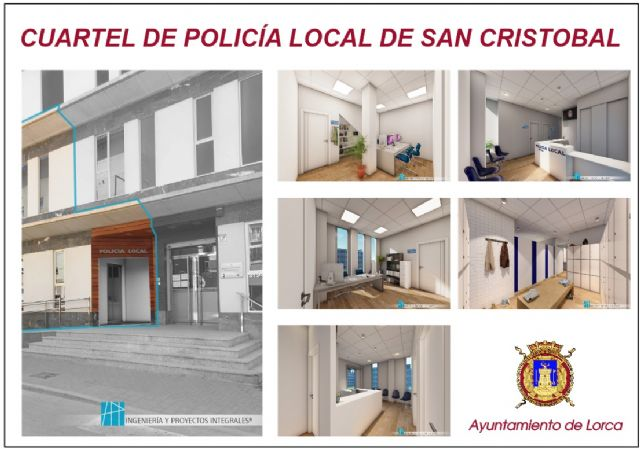 El Ayuntamiento de Lorca abre el procedimiento de adjudicación de los trabajos de acondicionamiento para la creación del Cuartel de Policía Local del Barrio de San Cristóbal - 1, Foto 1