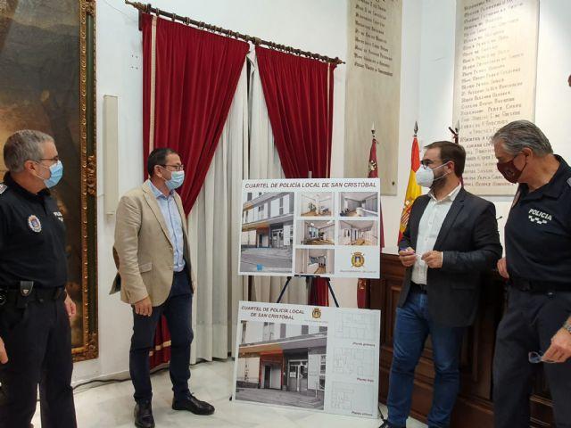 El Ayuntamiento de Lorca abre el procedimiento de adjudicación de los trabajos de acondicionamiento para la creación del Cuartel de Policía Local del Barrio de San Cristóbal - 2, Foto 2