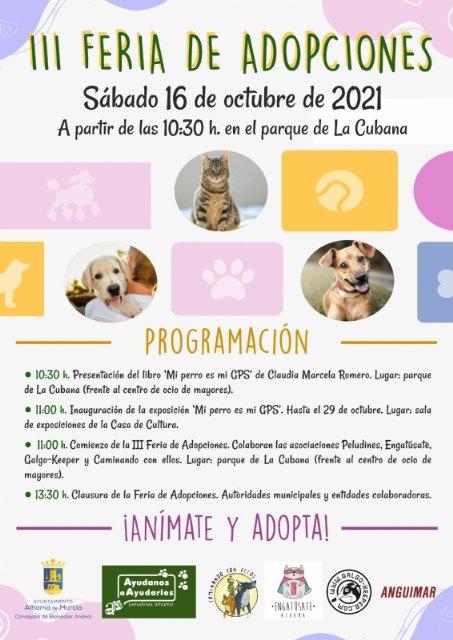 III feria de adopción de animales con la presentación del libro ´Mi perro es mi GPS´ - 2, Foto 2