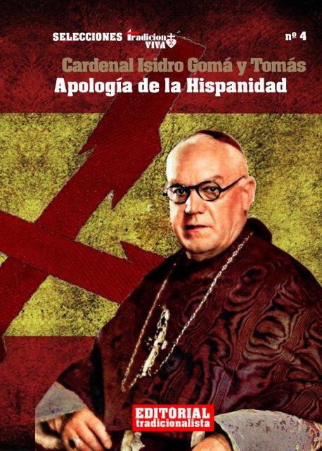 Novedad editorial: Apología de la hispanidad, del Cardenal Gomá - 1, Foto 1