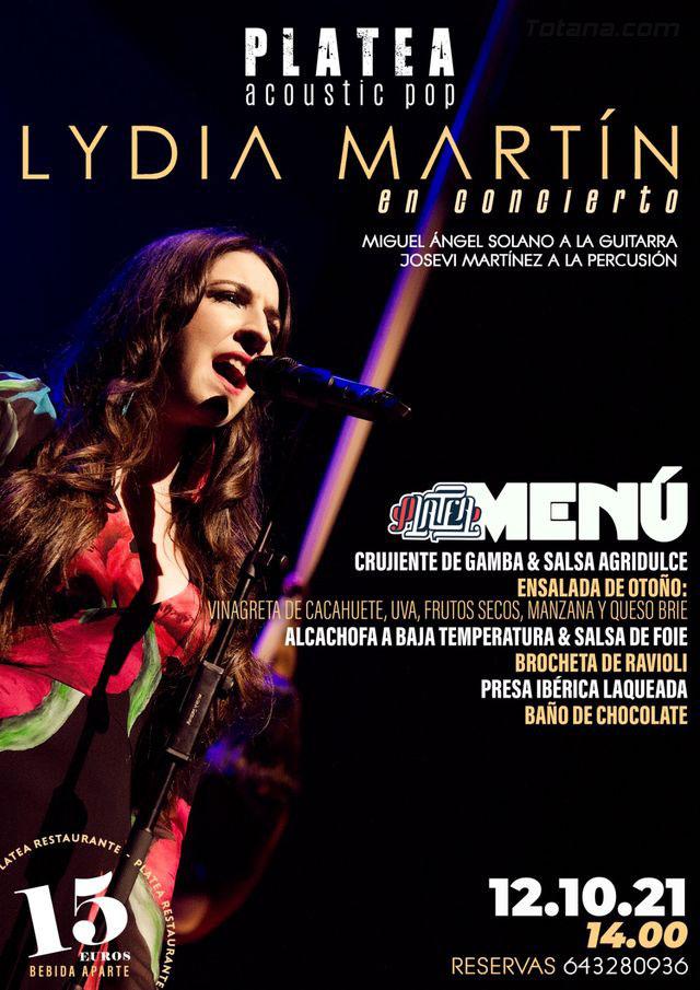 Lydia Martín actuará este martes en Totana, Foto 1