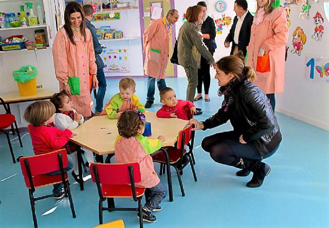 La Alcaldesa y Concejales celebran con educadoras y escolares el XXV Aniversario de la Escuela Municipal Infantil Colorines - 1, Foto 1