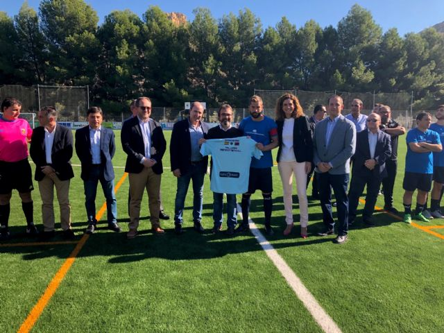 La Comunidad financia la renovación del césped del campo de fútbol de Archena - 1, Foto 1
