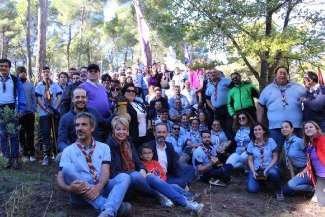 La colaboración entre la Comunidad y la Federación de Scouts permite recuperar la antigua casa forestal Fuente Rubeos