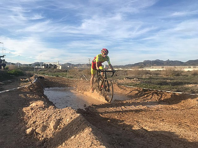 Francisco Cánovas, from the Santa Eulalia Cycling Club, participated in the second round of the cycle circuit in the Murcia region, Foto 2