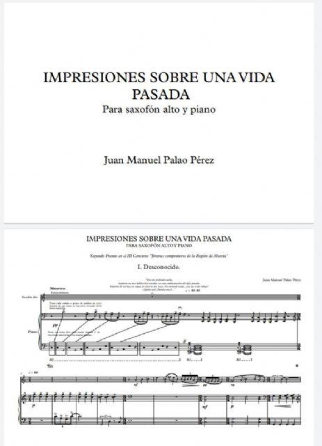 Juan Manuel Palao Pérez obtiene el Segundo Premio del III Concurso Jóvenes compositores de la Región de Murcia - 1, Foto 1