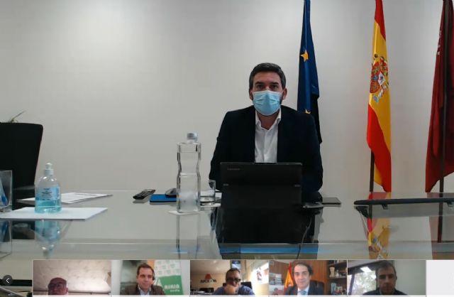 El Consejero de Agua y Agricultura de la Región de Murcia se compromete a colaborar y trabajar con ALAS - 1, Foto 1