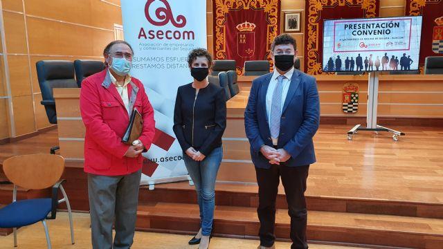 El Ayuntamiento de Molina de Segura y ASECOM firman un convenio con el objetivo de promocionar y fomentar el emprendimiento en el municipio - 1, Foto 1