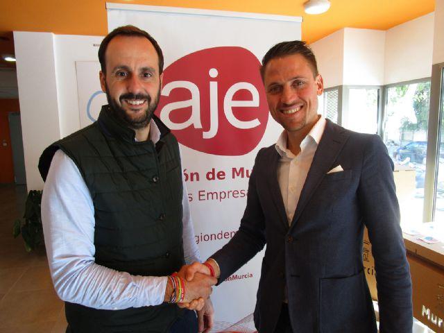 Pablo Soler, nuevo delegado territorial de AJE Región de Murcia en el Altiplano - 1, Foto 1