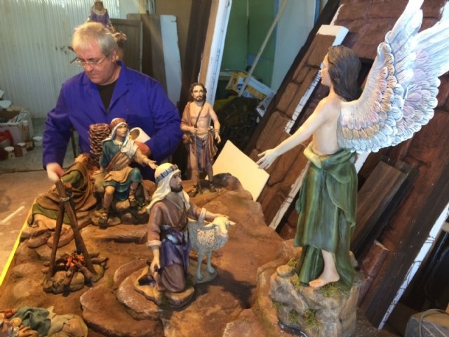 This Saturday, December 15, the Belenista Municipal Art Fair opens. This year, the Nativity scene master Francisco Javier Carrillo has made it