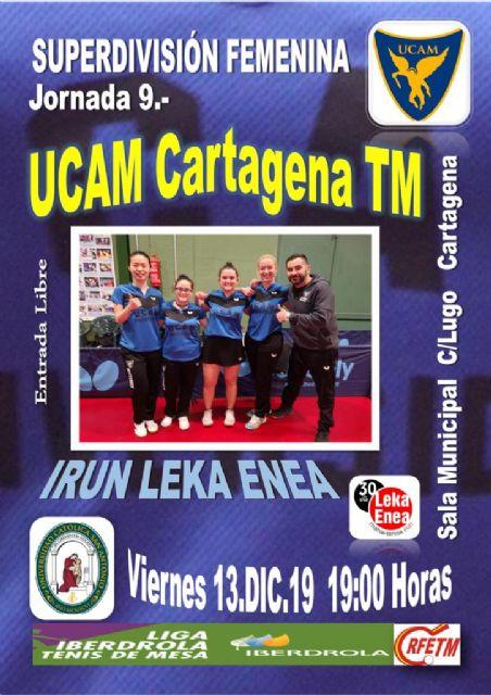 UCAM Cartagena-Irún Leka Enea, el liderato en juego - 1, Foto 1