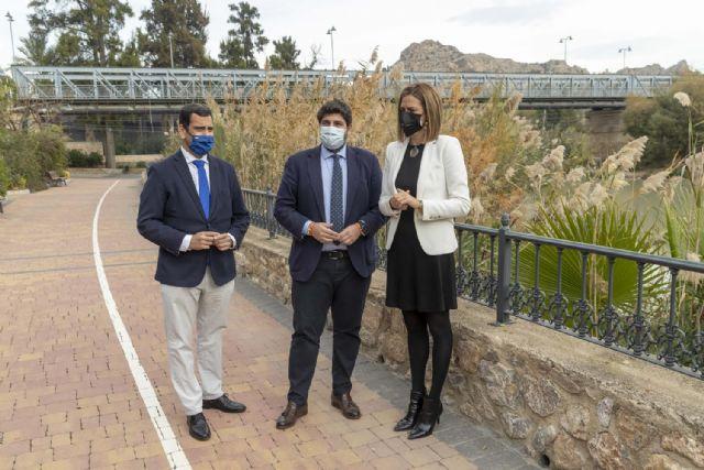 López Miras: La rehabilitación del puente de hierro de Archena es un hito histórico que mejorará la movilidad y el patrimonio municipal - 1, Foto 1