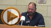 El concejal no adscrito Juan Carlos Carrillo ofreció una rueda de prensa para informar sobre algunos asuntos tratados en el Pleno de abril