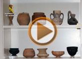 """Yacimientos Arqueológicos solicitará que las piezas arqueológicas expoliadas en La Bastida, en el marco de la operación """"Idolillo"""", regresen a Totana"""