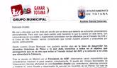 Ganar Totana IU solicita al Alcalde que convoque una Asamblea Ciudadana para explicar los resultados de la reunión con ADIF en Madrid