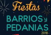 El calendario de fiestas en barrios y pedanías se prolongará desde principios de junio hasta comienzos del próximo mes de octubre