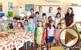 Unos 60 niños y niñas participan este mes en el Taller de Cocina Creativa y Divertida