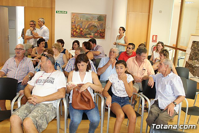 Diego Conesa anuncia una modificación del trazado del Corredor Mediterráneo en Totana para minimizar el impacto sobre los vecinos - 2