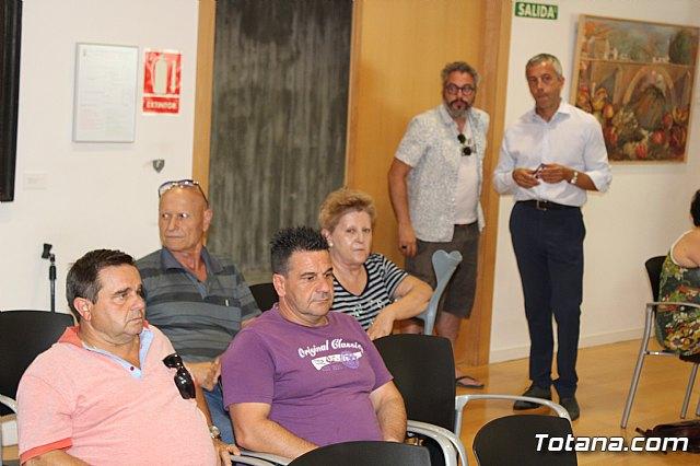 Diego Conesa anuncia una modificación del trazado del Corredor Mediterráneo en Totana para minimizar el impacto sobre los vecinos - 3